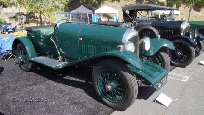 1925 Bentley Speed Short Chassis at Greystone Concours d'Elegance 2015