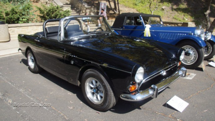 1967 Sunbeam Tiger convertible at Greystone Mansion Concours d'Elegance 2015