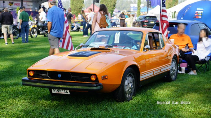 1972 Saab Sonett III at Steve McQueen Car and Motorcycle Show 2017