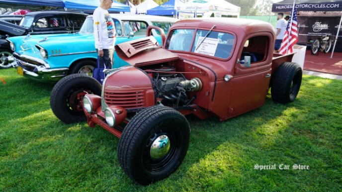 1940 Dodge WC by South Orange County Rods and Customs at Steve McQueen Car Show 2017