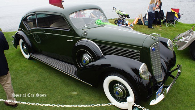 1938 Lincoln K Twelve Judkins Touring Coupe at Pebble Beach Concours d'Elegance 2013