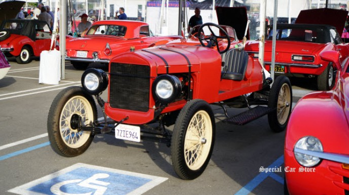 1926 Ford Model T Roadster sold at McCormick's Collector Car Auction 63