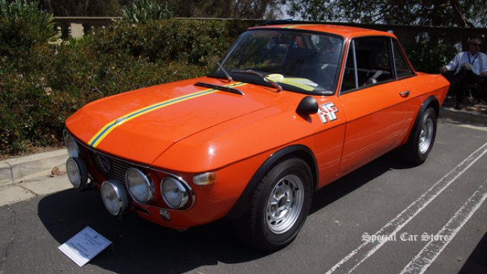1970 Lancia Fulvia 1.6 HF wins BRM Award at Greystone Mansion Concours d'Elegance 2015