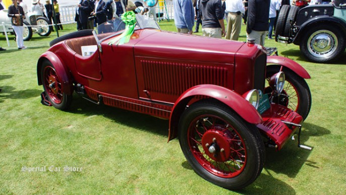 1930 Gar Type B5 Roadster at Pebble Beach Concours d'Elegance 2013