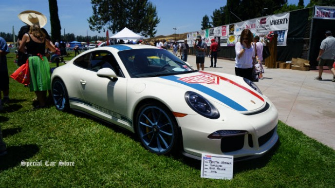 2016 Porche 911R Heuer at Steve McQueen Car Show 2017 to benefit Boys Republic
