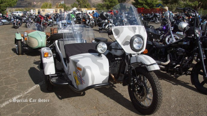 Ural Sidecar Motorcycle at Harley-Davidson of Glendale 32nd Love Ride