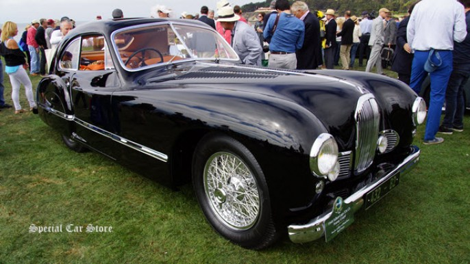 1949 Talbot Lago T26 GS Franay Coupe at Pebble Beach Concours d'Elegance 2014