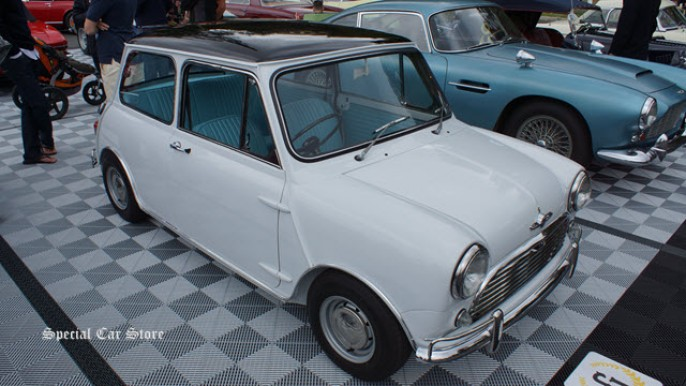1968 Austin Mini Cooper MKII at Greystone Mansion Concours d'Elegance 2013