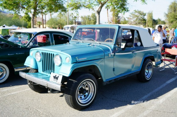 1967 Jeep Jeepster at Palm Springs Cruisin' Association Car Show 2017