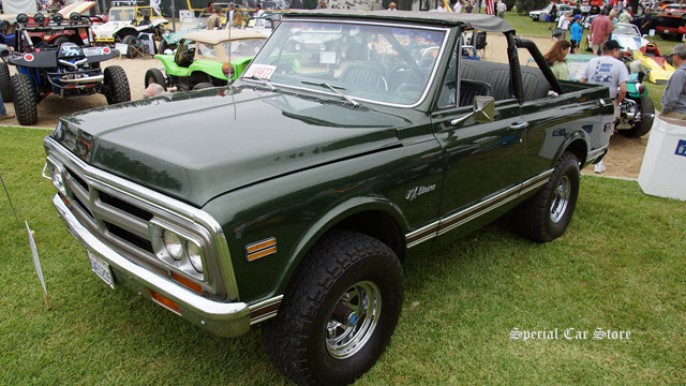 1970 Chevrolet Blazer owned by Steve McQueen at Steve McQueen Car Show 2014