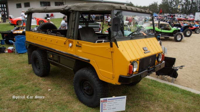 1972 Pinzgauer 710M at Steve McQueen Car and Motorcycle Show 2014