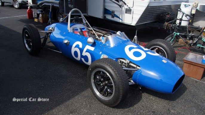 1960 Kieft Formula Junior at Sonoma Historic Motorsports Festival 2015