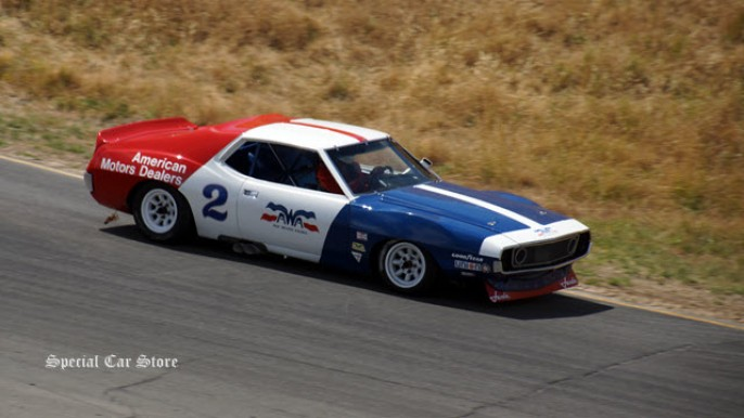 1971 AMC Javelin - 1966-1972 Historic Trans-Am Cars Group at Sonoma Historic Motorsports Festival 2015