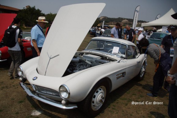 1958 BMW 507 at Legends of the Autobahn 2016