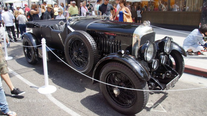 1929 Bentley 4.5 liter Tourer by Vanden Plas at Rodeo Drive Concours d'Elegance 2014