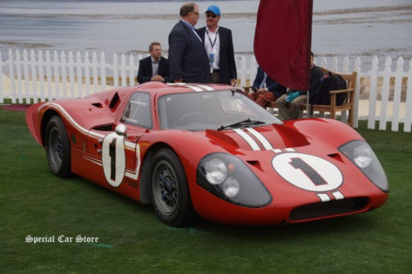Ford GT40 Le Mans' Winner on the eve of Pebble Beach Concours d'Elegance