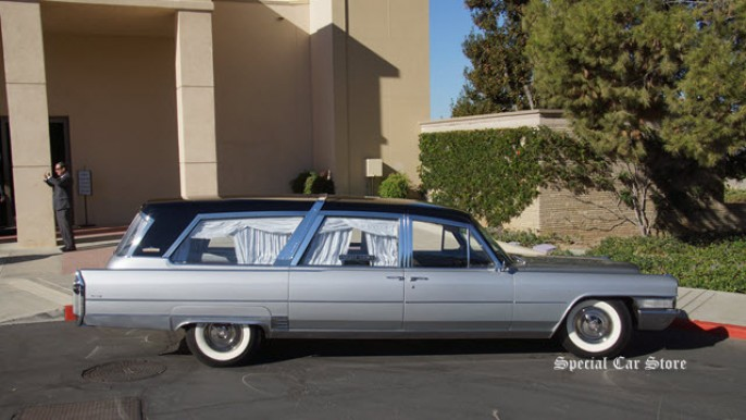 1965 Cadillac Crown Royale Limousine Hearse at Celebration of the George Barris Legacy