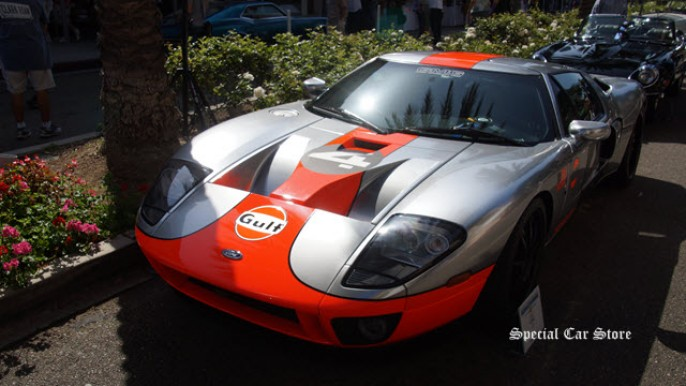 2007 Ford GT at Greystone Mansion Concours d'Elegance 2015