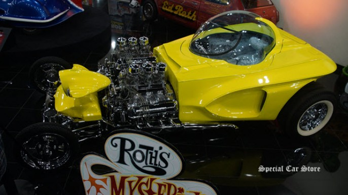 Roth's Mysterion: the Wildest of the 60's Show Rods at Galpin Auto Sports