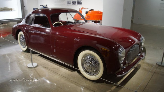 1947 Cisitalia 202 Coupe at Petersen Automotive Museum