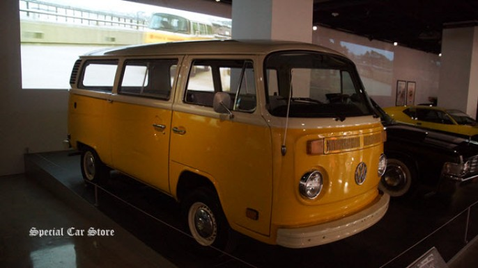 1979 Volkswagen Type 2 Transporter Driven in Little Miss Sunshine at Petersen Automotive Museum