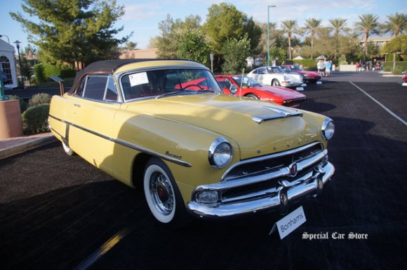 1954 Hudson Hornet Convertible Brougham sold at Bonhams Scottsdale Auction 2017