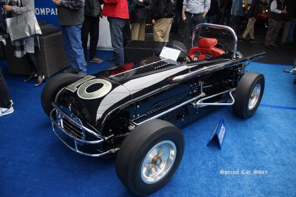 1956 Jimmy Knight Offenhauser Roadster Midget Racer sold at Gooding and Company Scottsdale Auction 2017