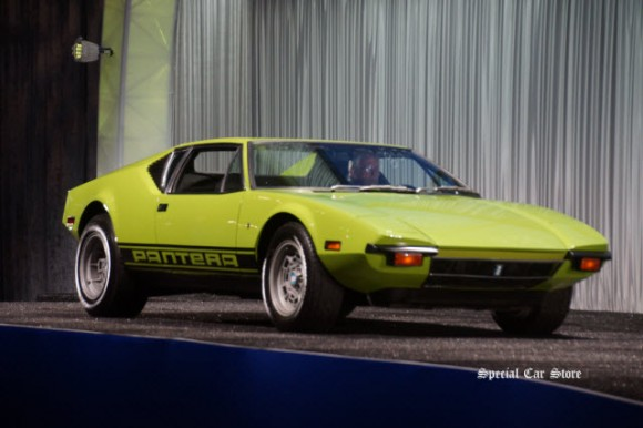 1971 De Tomaso Pantera Coachwork by Ghia sold at Gooding & Company Scottsdale Auction 2017