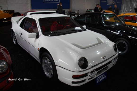 1986 Ford RS200 Coachwork by Ghia sold at Gooding and Company Scottsdale Auction 2017