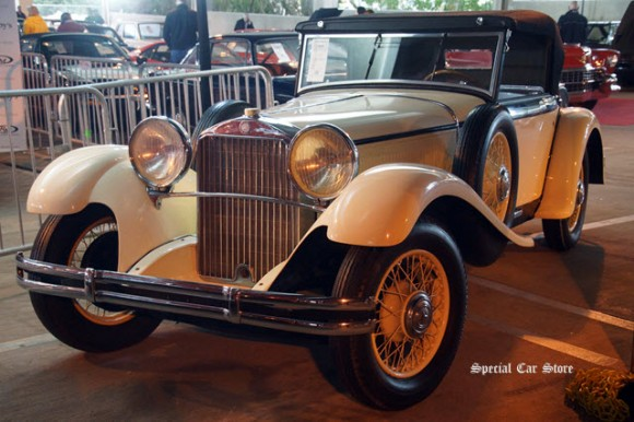1931 Mercedes-Benz 370 S Mannheim Sport Cabriolet sold at RM Sotheby's Scottsdale Auction 2017