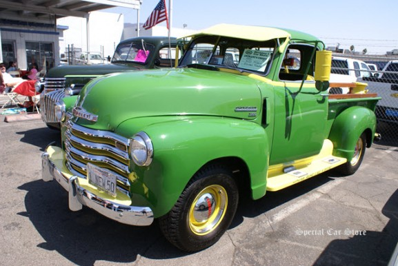 1950 Chevy 5 window pick up. 3100 1/2 ton at Community Chevrolet in Burbank