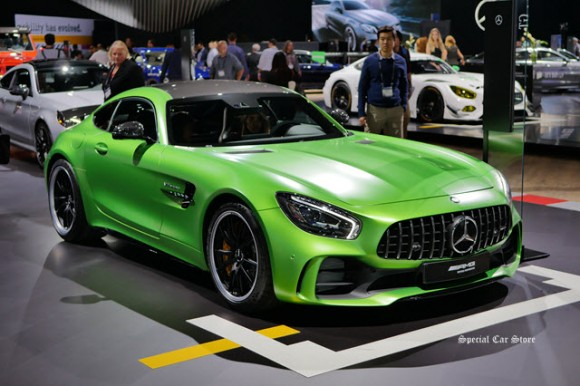 2018 AMG GTR Coupe at LA Auto Show 2016