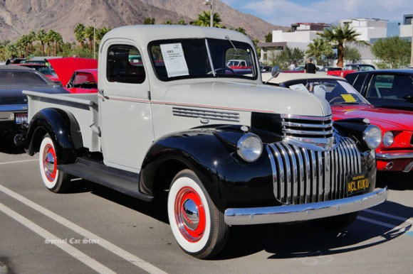 1946 Chevrolet Stepside Pick up sold at McCormick's Collector Car Auction 61