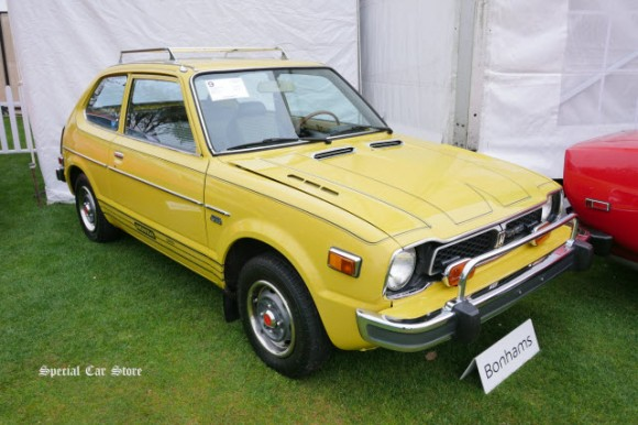 1977 Honda Civic CVCC sold at Bonhams Scottsdale Auction 2017