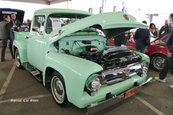 1956 Ford F100 Pickup sold at Barrett-Jackson Scottsdale Auction 2017