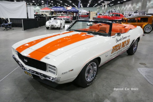 1969 Chevrolet Camaro SS Official Pace Car at The Classic Auto Show 2017