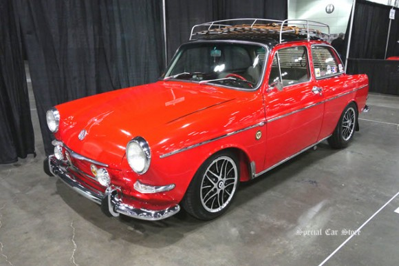 1963 Volkswagen Notchback Type 3 at The Classic Auto Show 2017