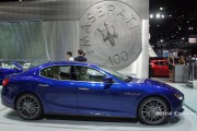 Luxury cars at LA Auto Show 2014