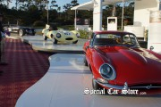 Jaguar display at Pebble Beach Concours d'Elegance 2012