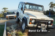 Land Rover display at Pebble Beach Concours d'Elegance 2012