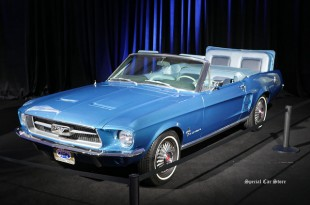 1967 Ford Mustang custom in Galpin Hall of Customs at LA Auto Show 2016