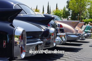 Cadillac Collector Cars at Greystone Mansion Concours d'Elegance 2012