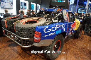 Off road rally truck GoPro at CES 2013