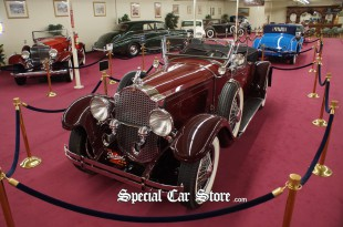 1929 Packard 640 Custom Eight Roadster Auto Collections Las Vegas