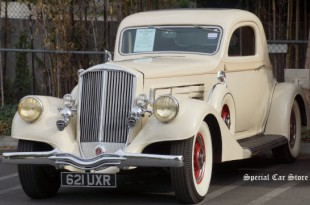 1935 Pierce-Arrow Model 845 Coupe sold at Auctions America California 2014