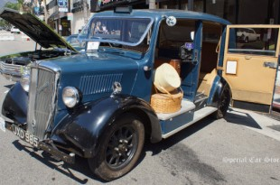 1947 Nuffield Oxford Taxi at Downtown Burbank Car Classic 2013
