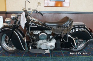 """1946 Indian Chief """"Steve McQueen"""" Sold at Auctions America California 2013"""