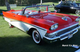1958 Ford Fairlane Skyliner 500 Convertible at the Sixth Annual Desert Classic Concours d'Elegance