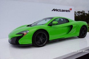 2014 McLaren 650S Spider at Pebble Beach Concours d'Elegance