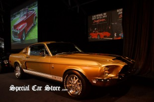1968 Shelby GT500 Fastback - Barrett-Jackson Auction Orange County 2012